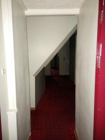 Hotel Patricia : corridoio