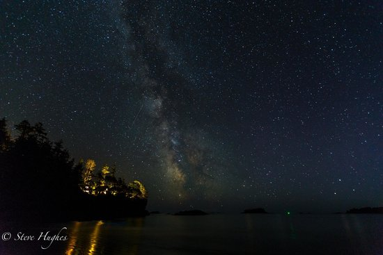Middle Beach Lodge: Night sky from Middle beach