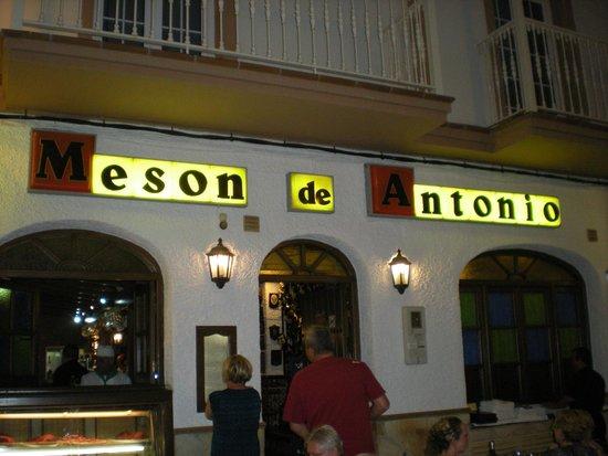 Meson Antonio: Meson de Antonio