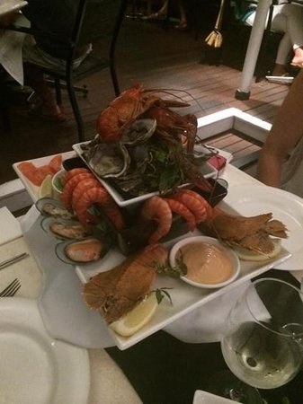 On The Inlet : sumptious seafood platter