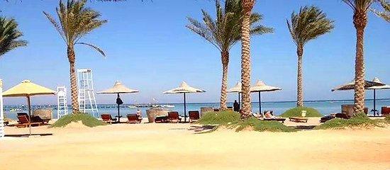 أورورا أورينتال ريزورت شرم الشيخ: this is there beach..beautiful.