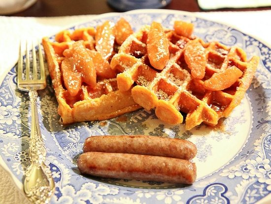Scarborough Fair Bed & Breakfast: Sweet Potato Waffles
