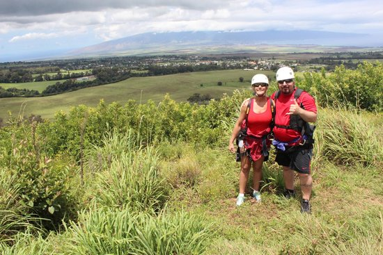 Piiholo Ranch Zipline : Incredible views between lines 4 and 5 !!