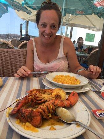 Restaurante La Gamba Loca : Arroz caldoso con bogavante
