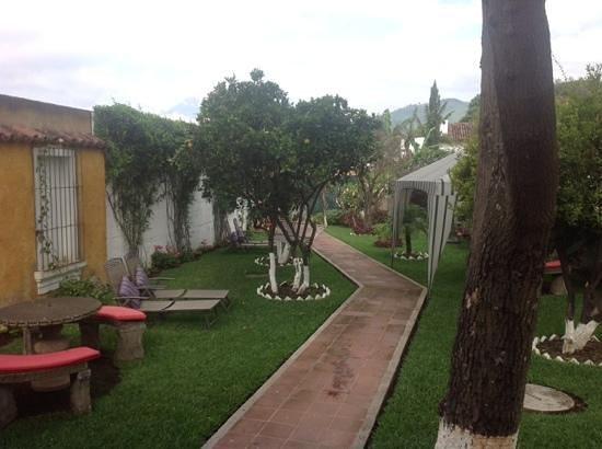 La Casa de Don Pedro: view from breakfast table