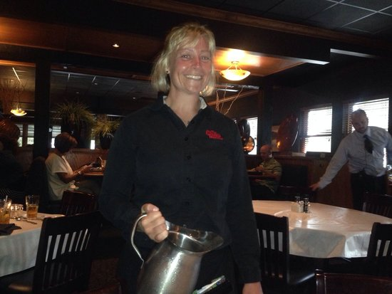 Jennifer our server at the Chop House today. Thank you Jennifer!!!