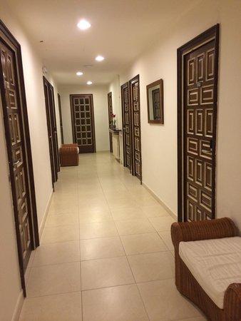 Hotel Rosamar: Pasillos