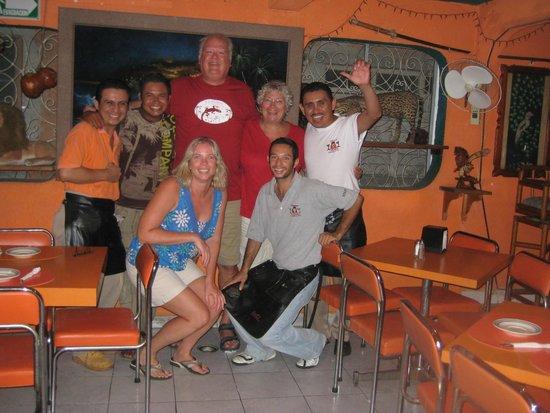 El Moro: Our Cozumel family!