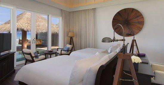 Naladhu Resort Maldives: Residence Twin Bedroom