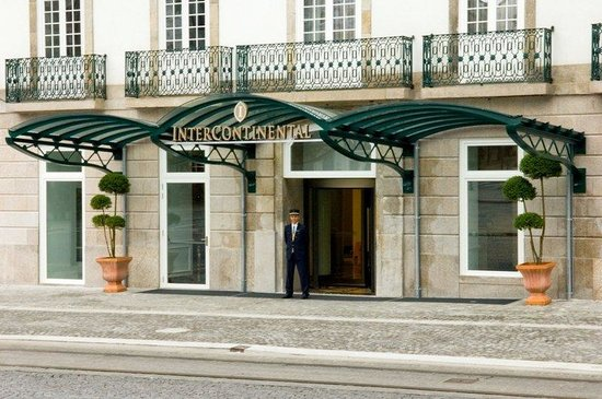 InterContinental Porto Palacio das Cardosas : Entrance