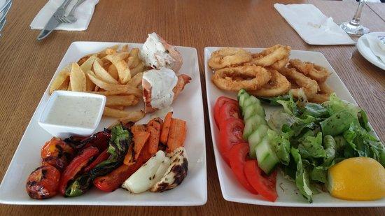 E Hotel Spa and Resort: amazing food