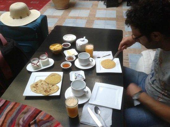 Riad Eden: la colazione
