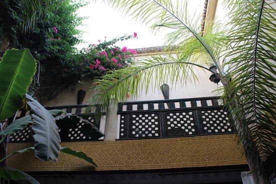 Riad Eden: cortile