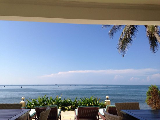 Shades Resort: Beautiful breakfast view