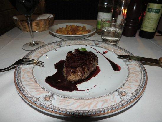 La Griglia: Filetto all'Amarone