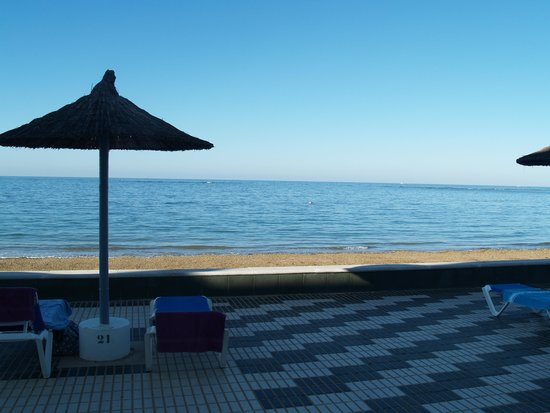 Hotel Playa de la Luz: View from room window
