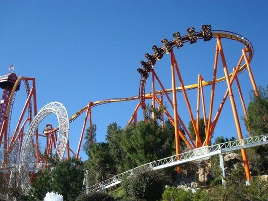 Six flags magic mountain hotel packages
