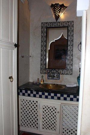 Riad Eden: particolare bagno