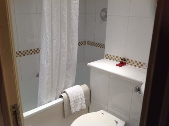 Corus Hotel Hyde Park London: bathroom- a little cramped