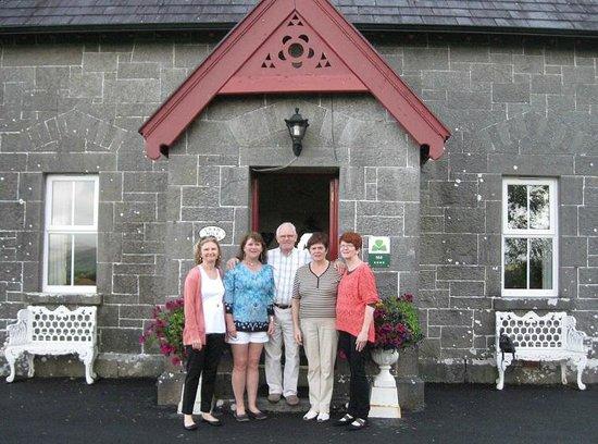 Ballykine House: Our hosts, the Ann & Barry
