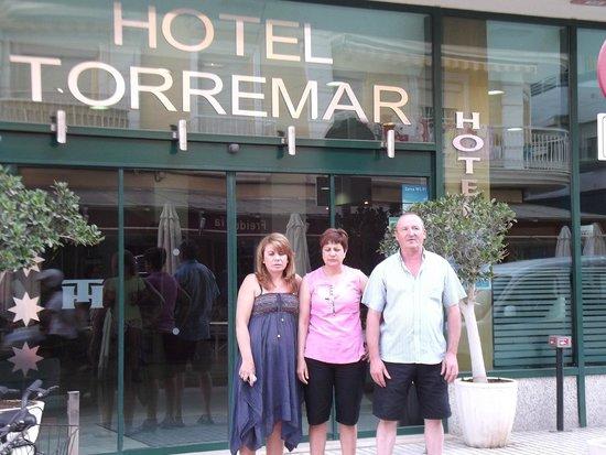 Torremar Hotel: puerta principal