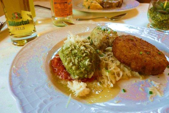 Hotel Edelweiss Gerlos: één van de lekkere maaltijden