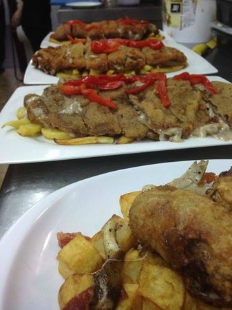 Restaurante La Cueva: Cachopos