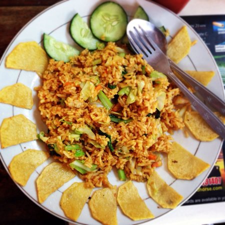 Daniel's Coffee Corner: veg Nasi goreng
