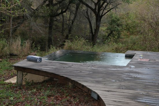 Dulini River Lodge : A view from the deck.