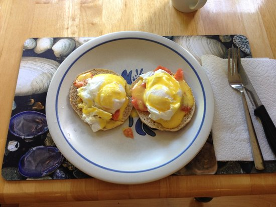 Oyster Shores B&B: Great breakfasts