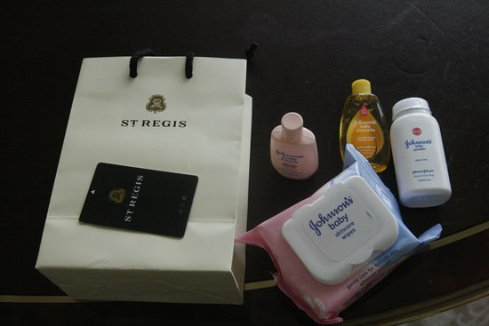 The St. Regis Singapore: Gift for our son