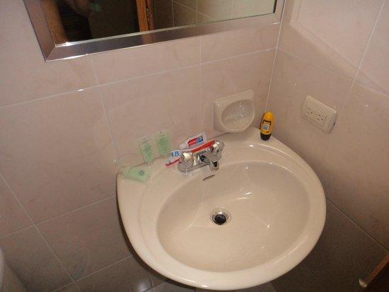 Euro Hotel: lavamanos