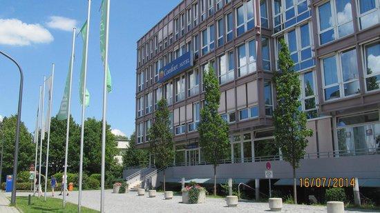 Mercure Hotel München Ost-Messe: Fachada del hotel