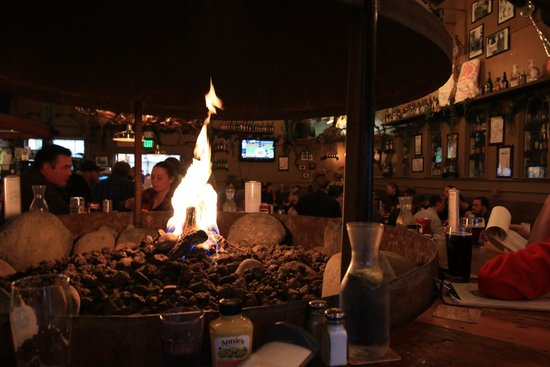 49th State Brewing Company : the firepit