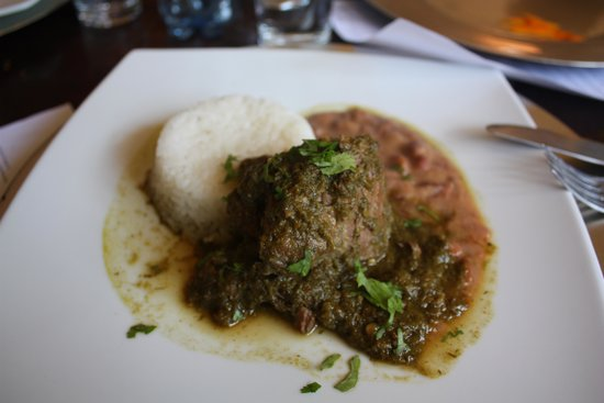 Cuchara de Palo : Beef, Beans and Rice