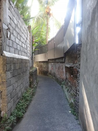Alamanda Accommodation: Entrance to Property (down small alleyway)