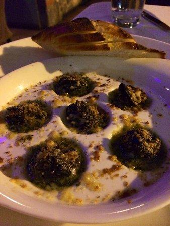 The Terrace Restaurant : Escargo - soooo delish!