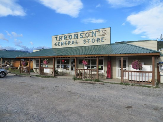 Thronson's General Store and Motel : general store