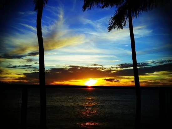 Aston Mahana at Kaanapali: Sunset from our room