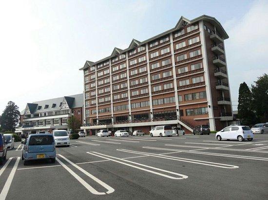 Aso Villa Park Hotel & Spa Resort : 飯店外觀