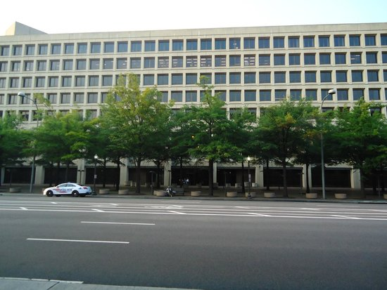 Federal Bureau of Investigation: The overview of the building.