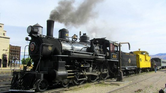 old train engine picture of nevada northern railway museum ely