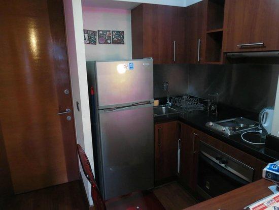 Apartamentos Capital: Cozinha completa