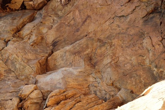 Parowan Gap Petroglyphs: South Face 2