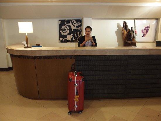 Hotel Cesario: reception