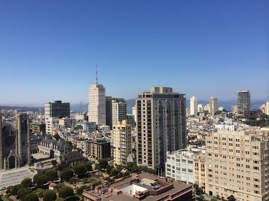 InterContinental Mark Hopkins San Francisco: View from the California Suite- 18th floor