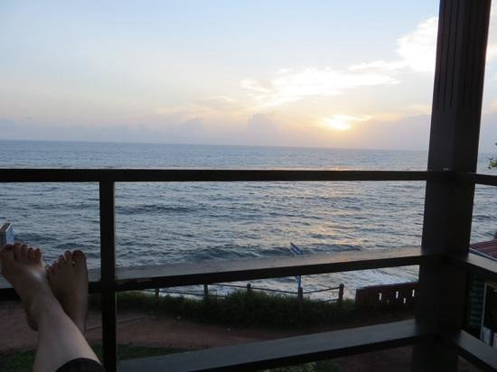 Thanal Beach Resort: balcony