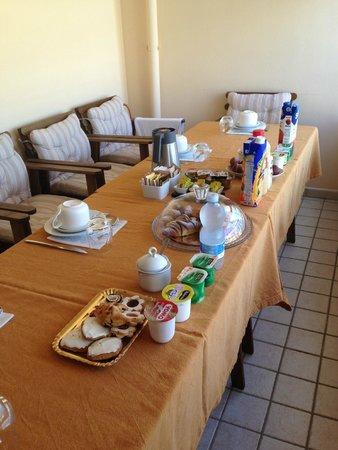 Vicolo Corto: petits dejeuners en terrasse