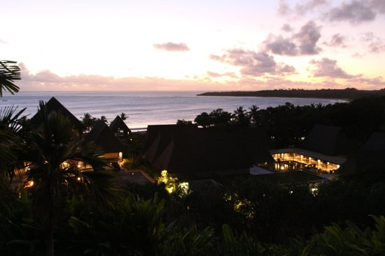 InterContinental Fiji Golf Resort & Spa: The view of the Intercontinental from our room.