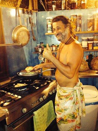 Blue Heaven Island lodge : Elie le Chef Extrordinare!